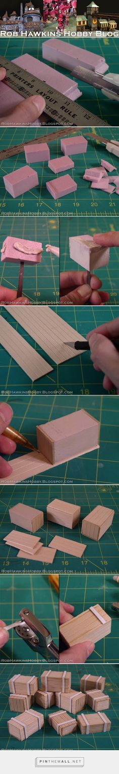 Rob Hawkins Hobby: Making Crates... - a grouped images picture - Pin Them All