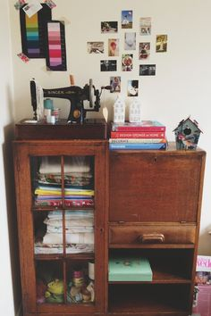 A small corner of my office | The Curiosity Project