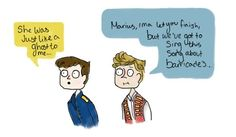 Um Marius... Les Mis. Seriously though he was not helpful.