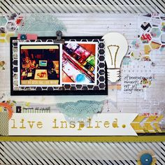 paper C A R D inal: live inspired. Little Black Dress Kit Club - December