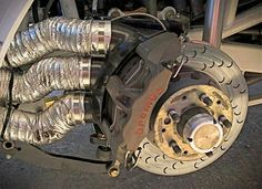 Brembo Racing Brakes Now those are brake ducts!
