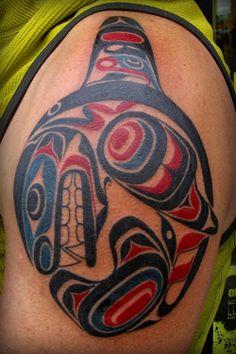 Haida Tribe Art   Images Haida Orca Tattoo Pic Wallpaper