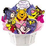 Winnie the Pooh Cookie Basket