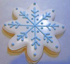 My Cookie Clinic: SNOWFLAKE COOKIES/ Julie & Julia