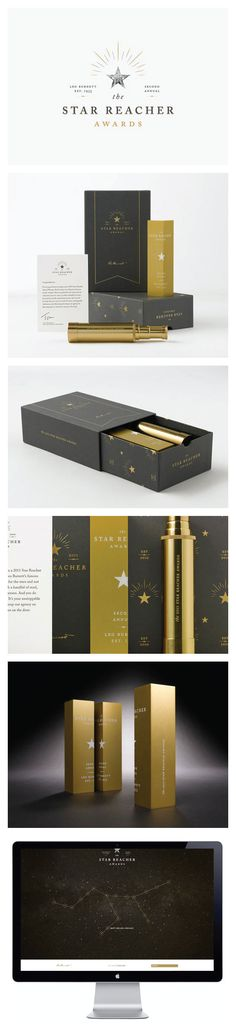 Leo Burnett Dept. of Design. Reach for the stars #packaging #branding #marketing…