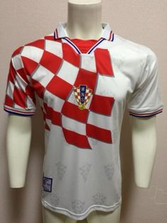 ec581ece2 1998 World Cup Jersey Croatia Home Replica Red Shirt 1998 World Cup Jersey  Croatia Home Replica Red Shirt