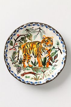 Le Tigre Plate #anthropologie