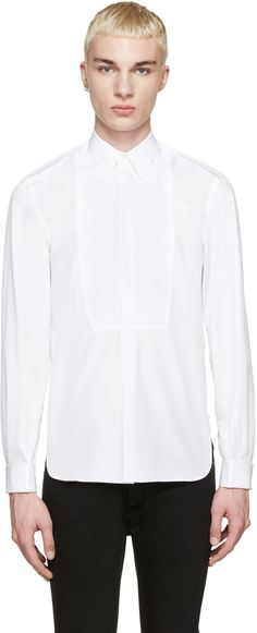 Maison Margiela - White Tuxedo Shirt