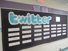 "Ticket out the door is to ""Tweet"" or comment about topic.. This is an effective use of social networks AND exit slip!  *check out website on details on how to create ""tweets"""