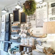 Urban Farmgirl - kitchen display - March 2016