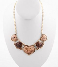 Barse Statement Frontal Necklace