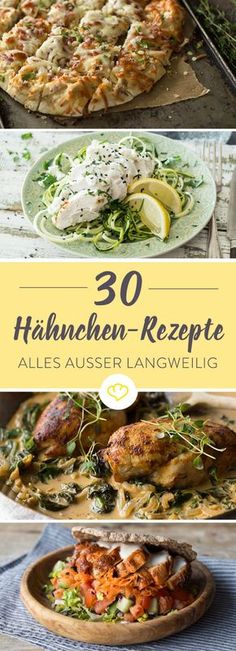 Hähnchenbrust: 30 geniale Rezepte voller Abwechslung Fancy chicken – cooked in a honey sesame marinade or served between two buns? That's how you have never eaten chicken breast. Butter Pasta, Butter Chicken, Chicken Recipes For Kids, Good Food, Yummy Food, Breast Recipe, Grilling Recipes, Pasta Recipes, Kids Meals