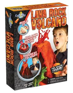 Amazon has Curiosity Kits Lava Rock Volcano for just $12.50 right now – the lowest price ever on record!
