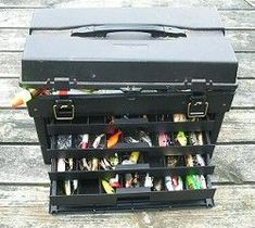 tackle box activity - fill with lures (remove hooks obviously), old reel, line, etc. Great fine motor, sorting, busy activity for person with dementia...