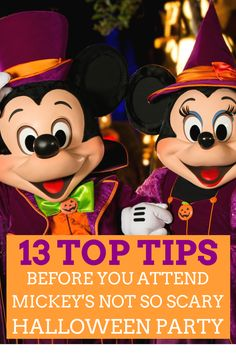 13 Top Tips You Need To Know Before You Attend Mickeys Not So Scary Halloween Party at Walt Disney World Resort | Redheadbabymama.com