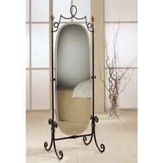 Espejo Vestidor de Forja Bastian #Ambar #Muebles #Deco #Interiorismo #Espejos   http://www.ambar-muebles.com/espejo-vestidor-de-forja-bastian.html