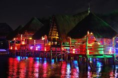 ♥ Dinner and drinks in a floating palapa ♥  Check us out!    cancun4u.com.mx
