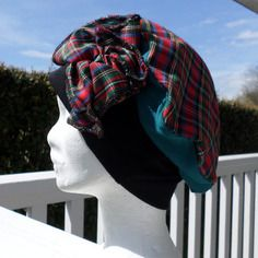 Turban bonnet béret chapeau doux jersey doux femme