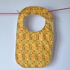 Baby Bib Handmade with 100% cotton fabrics.