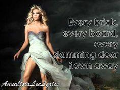 Carrie Underwood - Blown Away (Lyric Video)