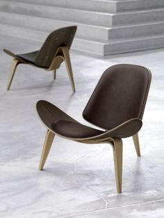 Carl Hansen & Son - Fauteuil CH07 SHELL CHAIR