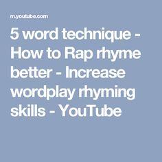 13 Best rap rhyming images in 2017 | Rap, Word play