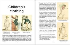 Book: Regency Fashion: taking a turn through time. Vol 2 - ladies' outerwear, gentlemen's and children's clothing. Sylvestra Regency. Example pages! http://www.blurb.co.uk/search/site_search?search=sylvestra+regency