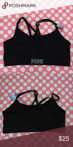 Victoria's Secret Ultimate sports bra racerback Large racerback Ultimate sports bra PINK Victoria's Secret Intimates & Sleepwear Bras