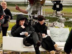 "Benedict Cumberbatch: ""Sherlock is a sexual person"" Holmes Sherlock Bbc, Fan Art Sherlock, Sherlock Irene Adler, Sherlock Au, Sherlock Series, Lara Pulver, Getting Divorced, Johnlock, Baker Street"