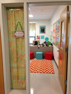 Pictures and ideas to design and decorate your school counselor office