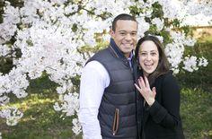 Samantha & Jerritt {cherry blossom engagment} Washington DC - Heidi Roland Photography