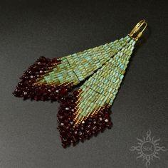 GABHIR marbled turquoise dangle beadwoven fringes earrings   Etsy Dangly Earrings, Fringe Earrings, Turquoise Earrings, Etsy Earrings, Funky Jewelry, Bohemian Jewelry, Beaded Jewelry, Handmade Jewelry, Jewellery