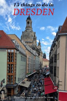 Read about all the things to do in Dresden, Germany, a city that's full of cultural gems and historic sights, that's been rebuilt since it was largely destroyed in Europe Travel Guide, Travel Guides, Travel Destinations, Holiday Destinations, Budget Travel, Visit Germany, Germany Travel, Malta, Monaco