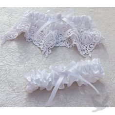 Vintage Lace Bridal Garter Set - Lace Weddings