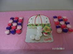 "princess paisley's cake at my sisters ""baby shower""..fabulous."