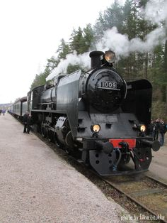 Old train in Lahti 2.5.2015, Finland