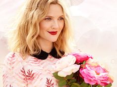 """First Look: Drew Barrymore and her New Make Up Collection """"Flower Cosmetics"""""""