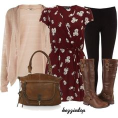 Cardigans dresses and leggings♡