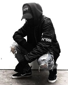 New Streetwear on our Website every month and Almost everything is on sale on my and off just click store rss feed . Men With Street Style, Men Street, Street Wear, Mode Cyberpunk, Cyberpunk Fashion, Fashion Moda, Urban Fashion, Womens Fashion, Fashion Fashion