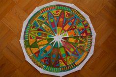 7th grade clock face art project