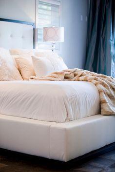 Master bedroom Platform bed