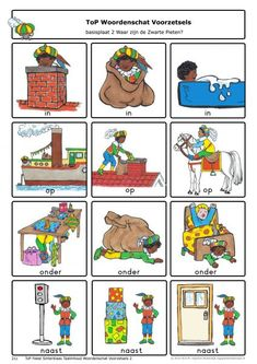 TAALDENKEN - Google zoeken St Nicholas Day, Dutch Language, Saint Nicolas, Holiday Festival, More Fun, Activities For Kids, Saints, Baby, Teaching