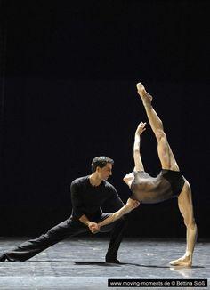 Nadja Saidakova and Arshak Ghalumyan performing Herman Schmerman