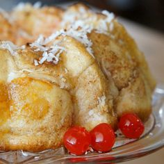 Monkey Bread meets Pineapple Upside Down Cake for a make-ahead holiday breakfast treat. GET THE RECIPE Pineapple Upside Down Monkey Bread submitted by Joanie Simon Media Related PostsEasy Pineapple JamCoconut Cake with Pineapple FillingApple Cider Pound CakePineapple Coconut Zucchini Bread