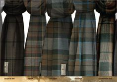 Officially Licensed OUTLANDER Tartans