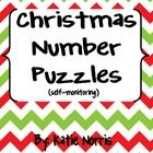This activity is great for an independent math center. Students will be able to self-monitor during this activity. Each number is matched to the wo...