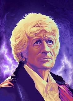 """A tear, Sarah Jane? No, don't cry. While there's life there's..."" Third Doctor"