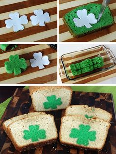30 Surprise-Inside Cake Ideas (with pictures & recipes) Shamrock Shaped Pound Cake for St. Surprise Inside Cake, Baked Cinnamon Apples, Gateaux Cake, Pound Cake Recipes, Dessert Recipes, Desserts, Dessert Ideas, Creative Cakes, St Patricks Day