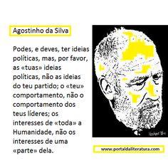 Agostinho da Silva Um grande homem.