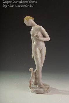Ceramics, Statue, Woman, Cats, Artist, Hall Pottery, Gatos, Pottery, Ceramic Art